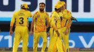 CSK vs RR, IPL 2021 Live Cricket Streaming: কোথায়, কখন দেখবেন চেন্নাই সুপার কিংস বনাম রাজস্থান রয়্যালস ম্যাচের সরাসরি সম্প্রচার?
