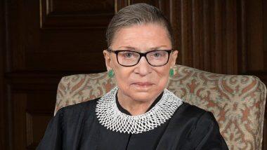 Ruth Bader Ginsburg Dies at 87: প্রয়াত মার্কিন সুপ্রিম কোর্টের বিচারপতি রুথ বেডার গিন্সবার্গ ওরফে আরবিজি, মৃত্যুকালে বয়স হয়েছিল ৮৭