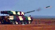 DRDO Test Fires Laser-Guided Anti-Tank Guided Missile: লেজার-গাইডেড অ্যান্টি-ট্যাঙ্ক গাইডেড মিসাইলের সফল পরীক্ষা চালাল ডিআরডিও