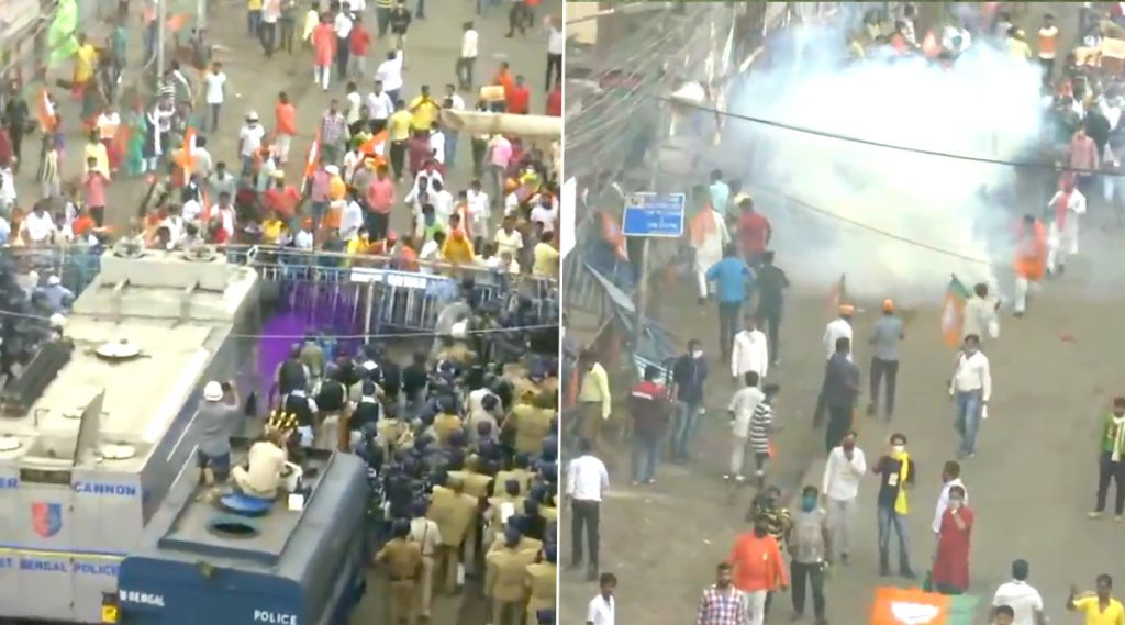 Kolkata: বিজেপির নবান্ন অভিযান ঘিরে হেস্টিংস মোড়ে ধুন্ধুমার, হাওড়া ময়দানে আগ্নেয়াস্ত্র উদ্ধার