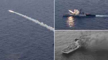 Anti-Ship Missile Test: আইএনএস কোরা থেকে অ্যান্টি শিপ মিসাইলের সফল পরীক্ষা চালাল নৌসেনা