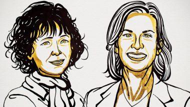 2020 Nobel Prize in Chemistry: রসায়নে নোবেল পেলেন এমমানুয়েল চার্পেন্টিয়ার এবং জেনিফার এ ডৌডনা
