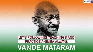 Gandhi Jayanti 2020 Messages: গান্ধি জয়ন্তীর বিশেষ শুভেচ্ছাপত্র, ছবি, ওয়ালপেপারগুলি পাঠিয়ে শ্রদ্ধা জানান জাতির জনককে