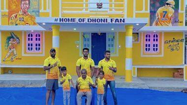 Man Paint His House in CSK's Yellow: দেড় লাখ খরচ করে চেন্নাই সুপার কিংসের হলুদ রঙে বাড়ি রং ধোনি ভক্তর, দেখুন ছবি