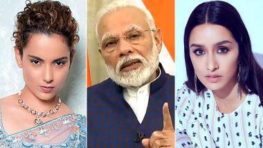 #Unite2FightCorona: কঙ্গনা রানাওয়াত থেকে শ্রদ্ধা কাপুর, কোভিড-১৯ রুখতে প্রধানমন্ত্রী নরেন্দ্র মোদির 'জন আন্দোলন'-র সমর্থনে বি-টাউন সেলেবরা