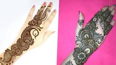 Eid-e-Milad 2020 Mehndi Designs: ঈদ-ই-মিলাদ-উন-নবি-র অগ্রিম শুভেচ্ছা! পবিত্র উৎসবে কীভাবে সাজিয়ে তুলবেন নিজেকে? রইল মেহেন্দির কিছু সহজ ডিজাইন