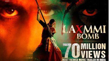Akshay Kumar's Laxmmi Bomb Trailer: ২৪ ঘণ্টার মধ্যে ৭০ মিলিয়ন ভিউজ নিয়ে রেকর্ড লক্সমী বম্বের ট্রেলার