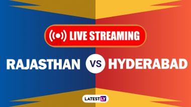 IPL 2020, RR vs SRH Live Streaming: কোথায়, কখন দেখবেন সাইরাইজার্স হায়দরাবাদ বনাম রাজস্থান রয়্যালস ম্যাচের সরাসরি সম্প্রচার