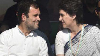 Rahul And Priyanka Gandhi: ১৪৪ ধারার মধ্যেই নির্যাতিতার পরিবারের সঙ্গে দেখা করতে বৃহস্পতিবার হাথরাস যাচ্ছেন রাহুল প্রিয়াঙ্কা