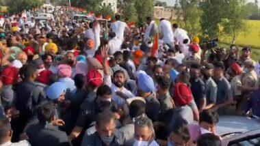 Rahul Gandhi Stopped by Police: হরিয়ানায় প্রবেশে বাধা, প্রয়োজনে ৫ হাজার ঘণ্টা অপেক্ষার হুঁশিয়ারি কংগ্রেস নেতা রাহুল গান্ধির