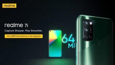 Realme 7i India Launch: রিয়েলমি দুনিয়া এখন আরও 'স্মার্ট', দেশে লঞ্চ হচ্ছে Realme 7i স্মার্টফোন, স্মার্টটিভি এবং ওয়ারলেস বাডস