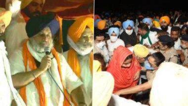 Harsimrat Kaur, Sukhbir Singh Badal Detained: কৃষি বিলের বিরোধিতায় পথে নেমে এবার গ্রেপ্তার হরসিমরত কৌর ও সুখবীর সিং বাদল
