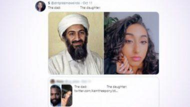Osama Bin Laden's 'Daughter': টুইটারের 'The Dad The Daughter' ট্রেন্ডিংয়ে হিট ওসামা-বিন-লাদেনের মেয়ে, ব্যাপারটা কী?