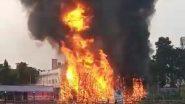Salt Lake Pujo Pandal: ভয়াবহ অগ্নিকাণ্ডে প্রতিমা-সহ ভষ্মীভূত সল্টলেক এফডি ব্লকের পুজো মণ্ডপ, উঠছে অন্তর্ঘাতের প্রশ্ন