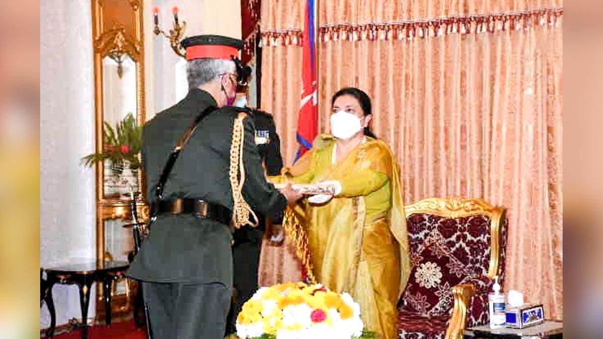 Nepal: নেপাল সেনাবাহিনীর 'জেনারেল' সম্মান পেলেন ভারতের সেনাপ্রধান মনোজ মুকুন্দ নারাভানে