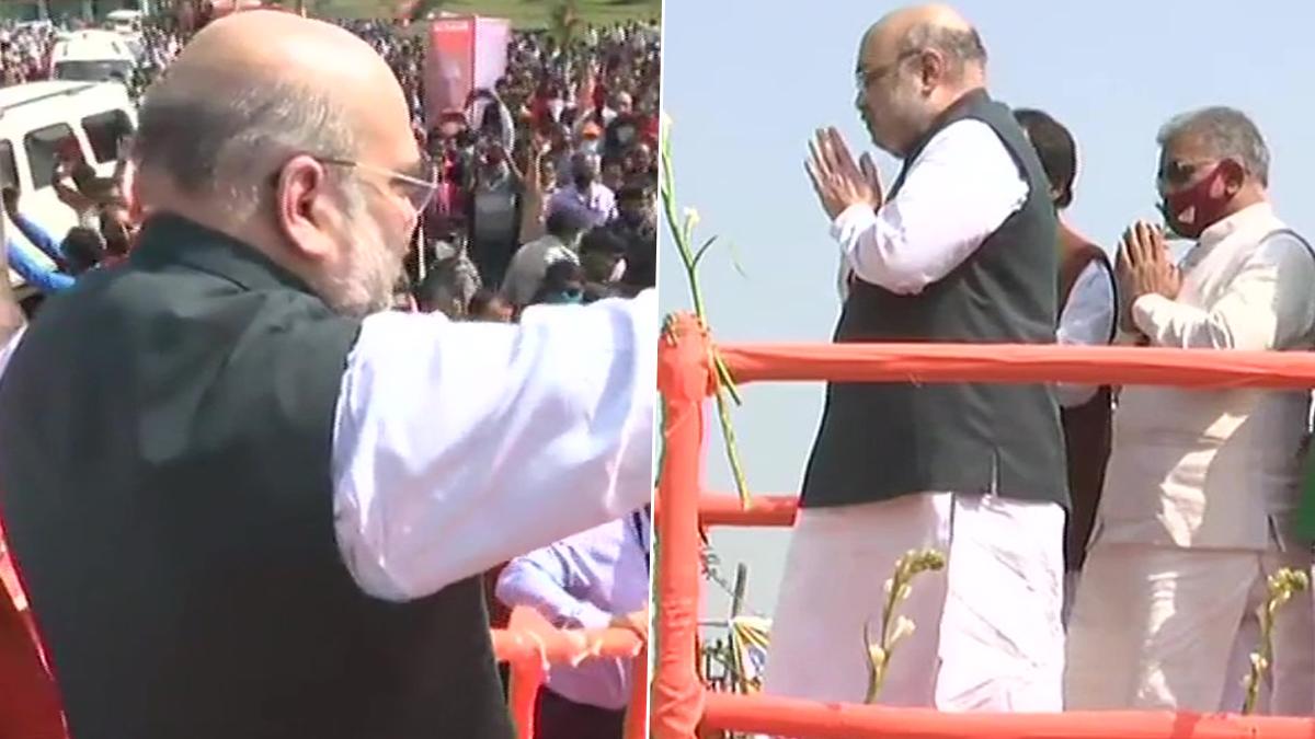 Amit Shah: বাঁকুড়ায় এসে 'মমতা সরকারের মৃত্যুঘণ্টা বেজে গেছে' হুঁশিয়ারি কেন্দ্রীয় স্বরাষ্ট্রমন্ত্রী অমিত শাহের