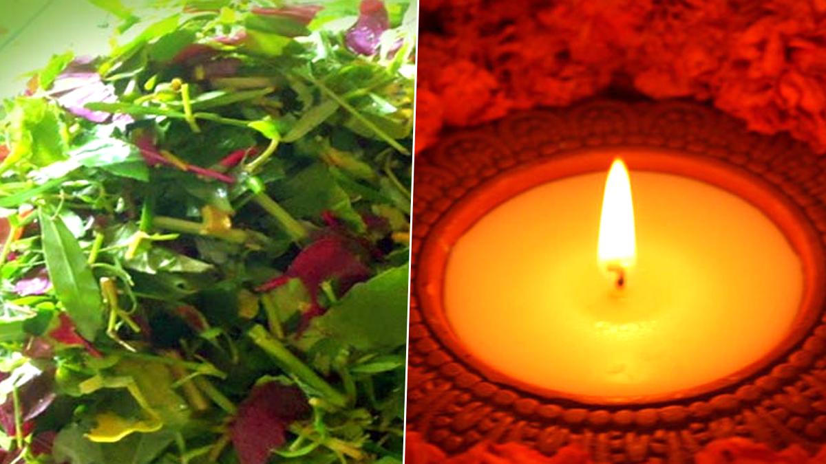 Significance of 14 shak & Enlightment 14 Diya on Bhoot Chaturdashi: ভূত চতুর্দশীতে ১৪ শাক, ১৪ প্রদীপ জ্বালানো হয়, জেনে নিন কারণ