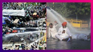 Farmers' Continue 'Delhi Chalo' March: পুলিশি বাধা এড়িয়ে দিল্লি সীমান্তে কৃষকেরা