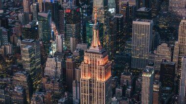 Empire State Building in New York Lit Up for Diwali: দীপাবলি উপলক্ষে আলোয় আলোকিত হল নিউইয়র্কের বিখ্যাত 'এম্পায়ার স্টেট বিল্ডিং'