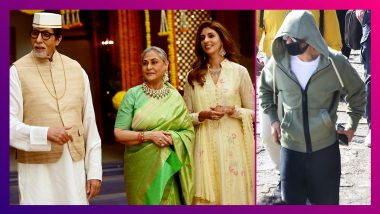 Shah Rukh Khan Clicked At Gateway of India: শ্যুটিং ফ্লোরে সপরিবারে অমিতাভ, শাহরুখকে চিনল না মুম্বই
