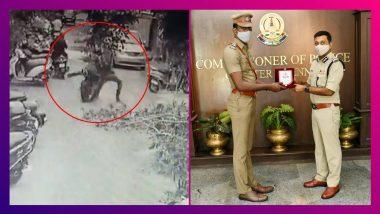 Chennai Cop Chases Thieves On Bike: সিনেমার দৃশ্যের থেকেও কম! বাইকে ধাওয়া করে চোরকে পাকরাও
