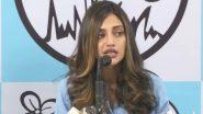 Nusrat Jahan on 'Love Jihad': তৃণমূলের সাংবাদিক সম্মেলনে 'লাভ জিহাদ' প্রসঙ্গে মুখ খুললেন সাংসদ নুসরত জাহান