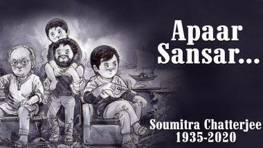 Amul Pays Tribute to Soumitra Chatterjee: কিংবদন্তী প্রয়াত অভিনেতা সৌমিত্র চট্টোপাধ্যায়কে ইলাস্ট্রেশনের মধ্যে দিয়ে শ্রদ্ধার্ঘ্য আমূলের