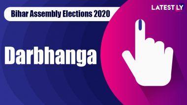 Darbhanga Vidhan Sabha Seat Result in Bihar Assembly Elections 2020: দ্বারভাঙ্গা বিধানসভা কেন্দ্রে জয়ী বিজেপির প্রথম প্রার্থী সঞ্জয় সারোগী নির্বাচিত হলেন বিধায়ক হিসেবে