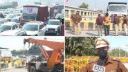 Farmers Protest: কৃষকদের প্রতিবাদে স্তব্ধ রাজধানী, দিল্লি-গুরুগ্রাম সীমান্তে হাজির হাজার হাজার প্রতিবাদী কৃষক
