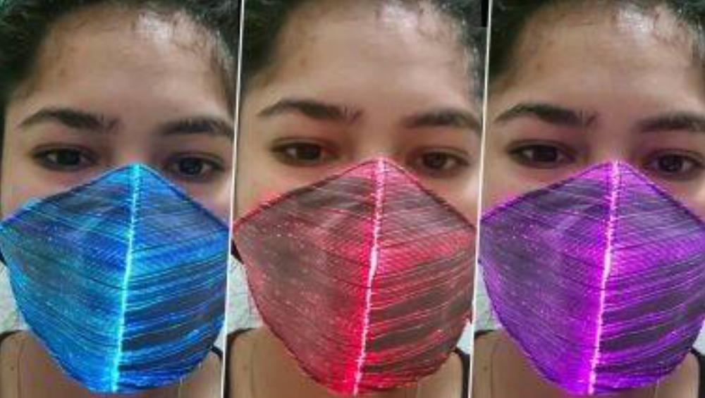 LED Light Face Mask for Diwali 2020: করোনার অন্ধকারে আপনার মুখকে আলোয় ভরাবে LED Light Face Mask, দেখুন ভিডিও