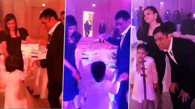 MS Dhoni Dancing and Partying With Wife Sakshi: স্ত্রী-মেয়েকে নিয়ে ডান্স ফ্লোরে চুটিয়ে নাচ ধোনির, দেখুন ভাইরাল ভিডিও