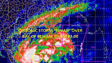 Cyclone Nivar: বিধ্বংসী আকার নিতে পারে নিভার, ২৬ নভেম্বর ১৩ জেলায় ছুটি ঘোষণা তামিলনাড়ুর