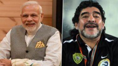 PM Modi Pays Tribute to Diego Maradona:  বিশ্ববাসীর আদরের রাজপুত্র ফুটবলের মায়েস্ত্রো দিয়েগো মারাদোনা, স্মৃতিচারণ নরেন্দ্র মোদির