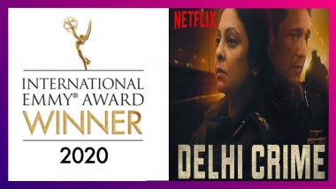 International Emmy Awards 2020: সেরা ড্রামা সিরিজে আন্তর্জাতিক ময়দানে পুরষ্কৃত দিল্লি ক্রাইম