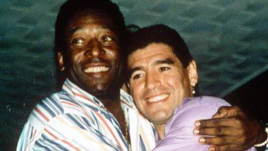 Pele Pays Tribute to Maradona: 'আশা রাখি একদিন আকাশে আমরা ফুটবল খেলব', মারাদোনার প্রয়াণে শোকস্তব্ধ পেলে