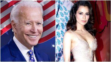 Kangana Ranaut Mocked Joe Biden: 'একবছরের বেশি বাঁচবেন না', আমেরিকার নবনির্বাচিত প্রেসিডেন্ট জো বাইডেনকে ট্রোল কঙ্গনা রানাওতের