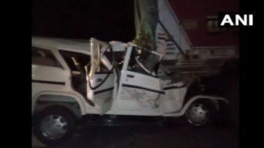 Prayagraj-Lucknow Highway Accident: উত্তরপ্রদেশে ভয়াবহ পথদুর্ঘটনা, যাত্রীবাহী গাড়ির সঙ্গে ট্রাকের মুখোমুখি সংঘর্ষে ৬ শিশু-সহ মৃত ১৪