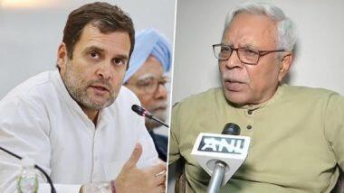 Bihar Elections: 'বিহার নির্বাচনের সময় পিকনিক করছিলেন রাহুল গান্ধী,' ক্ষোভপ্রকাশ আরজেডি নেতা শিবানন্দ তিওয়ারির