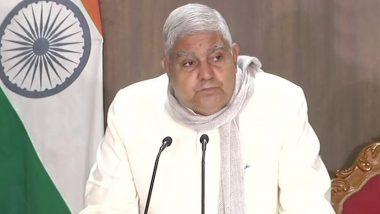Jagdeep Dhankhar: ভোটারদের নিরাপত্তা প্রশ্নে রাজ্যপুলিশকে টুইটে খোঁচা জগদীপ ধনখড়ের, পাল্টা বললেন ফিরহাদ হাকিম