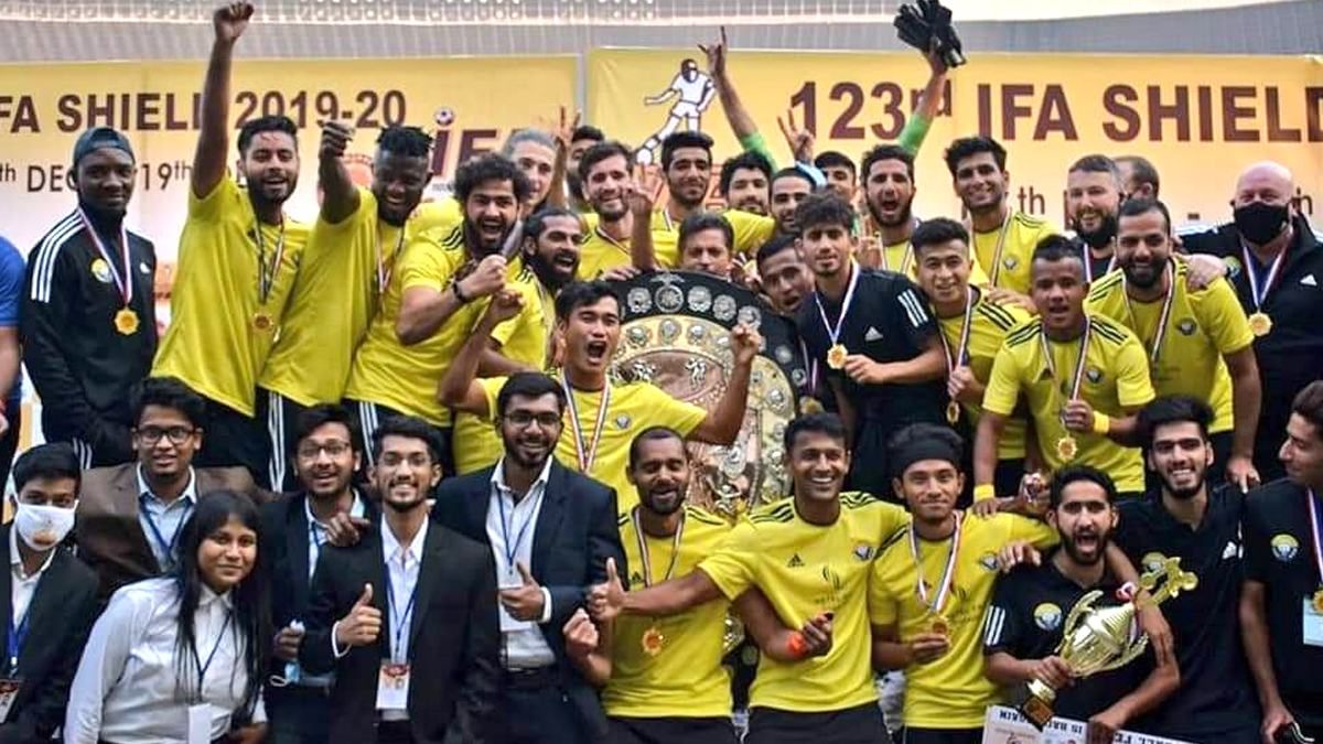 Real Kashmir wins IFA Shield: জর্জ টেলিগ্রাফকে হারিয়ে আইএফএ শিল্ড জিতল রিয়েল কাশ্মীর