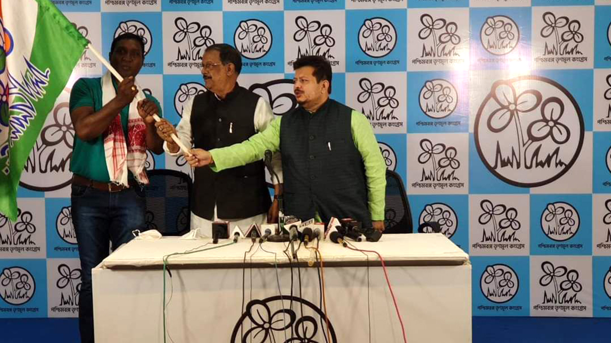 Rajesh Lakra joins TMC: উত্তরবঙ্গে বিজেপির 'আদিবাসী' ভোটবাক্সে ধাক্কা! ঋতব্রতর হাত ধরে তৃণমূলে যোগ টাইগারের