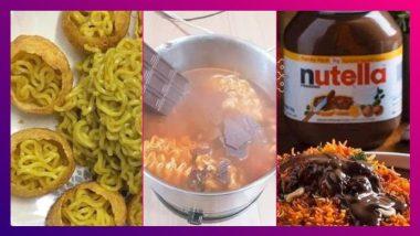 Food Combinations That Went Viral In 2020: ২০২০-র ভাইরাল খাবার! ফুচকার মধ্যে ম্যাগির পুর নাকি ট্রেন্ডিং