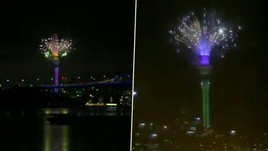 New Year 2021 Celebrations: আতস বাজির রোশনাইয়ে নতুন বছরকে স্বাগত জানাল নিউজিল্যান্ড