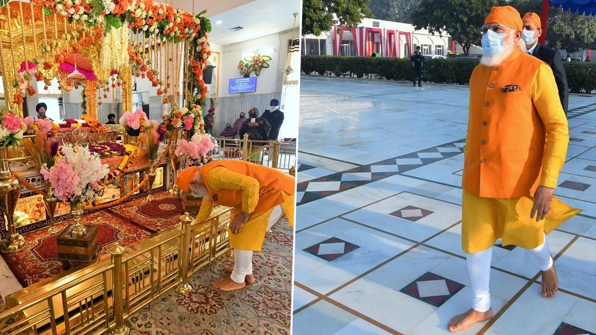 Modi Pays Tributes To Guru Teg Bahadur: গুরুদ্বার রাকাব গঞ্জ সাহেবে গিয়ে গুরু তেগ বাহাদুরকে শ্রদ্ধা নরেন্দ্র মোদির