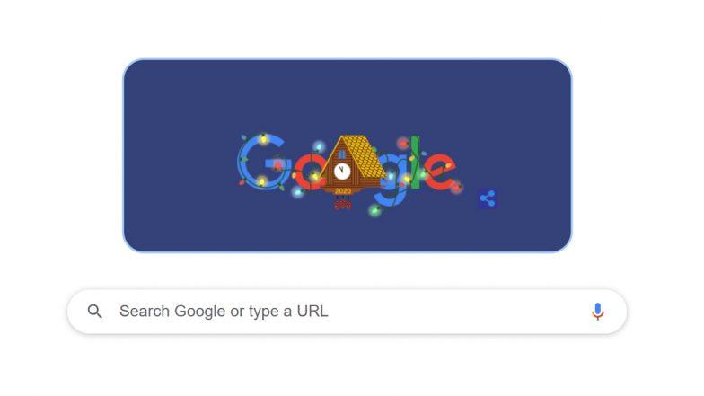 New Year's Eve 2020 Google Doodle: 'নববর্ষের প্রাক্কালে' গুগলের বিশেষ ডুডল
