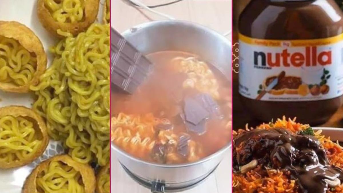 Food Combinations That Went Viral In 2020: আইসক্রিম ধোসা থেকে ম্যাগি ফুচকা! ২০২০-র ভাইরাল খাবারের যুগলবন্দি