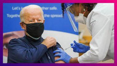 Joe Biden Receives Coronavirus Vaccine: করোনা প্রতিষেধক নিলেন মার্কিন প্রেসিডেন্ট ইলেক্ট জো বিডেন
