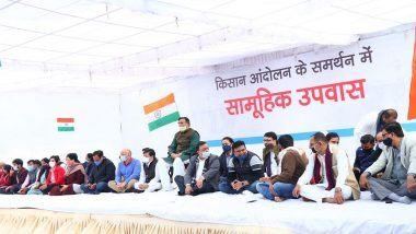 Delhi Govt Ministers And AAP MLAs Hold 'Hunger Strike': কৃষি আইন প্রত্যাহারের দাবিতে কৃষকদের পাশে দিল্লির নেতা-মন্ত্রী