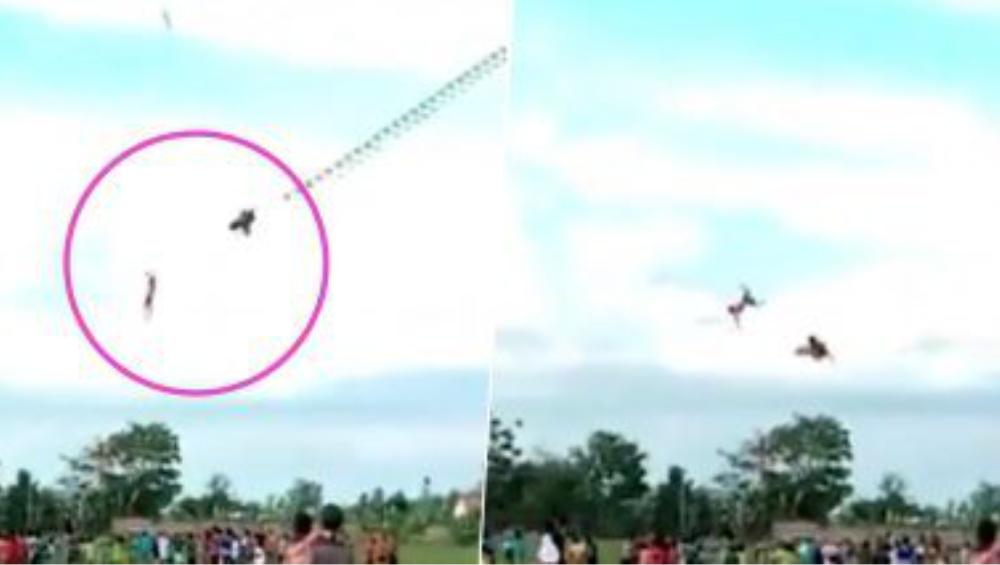 Boy Flies With Giant Kite: দৈত্যাকার ঘুড়ির সঙ্গে বাতাসে ভাসছে নাবালক, সোশ্যাল মিডিয়ায় ভাইরাল শকিং ভিডিও