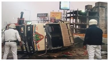 AJC Bose Flyover Road Accident: এজেসি বোস উড়ালপুলে উল্টে গেল গাড়ি, আহত কমপক্ষে ২৪